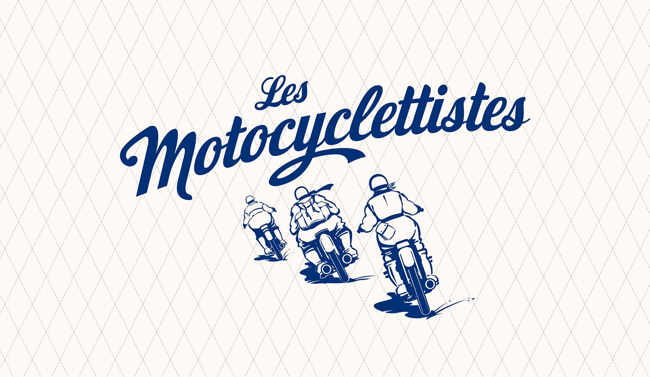 Logo Les Motocyclettistes créé par Maindor