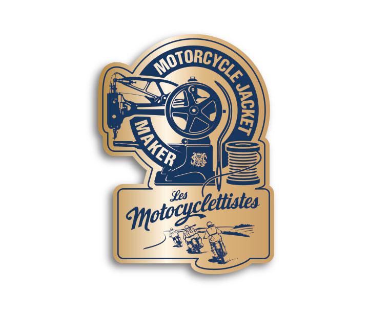 Pins Les Motocyclettistes créé par Maindor